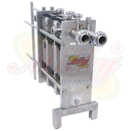 Milky Plate Heat Exchanger Plate Chiller, Milk Strainer Filter Manufacturer