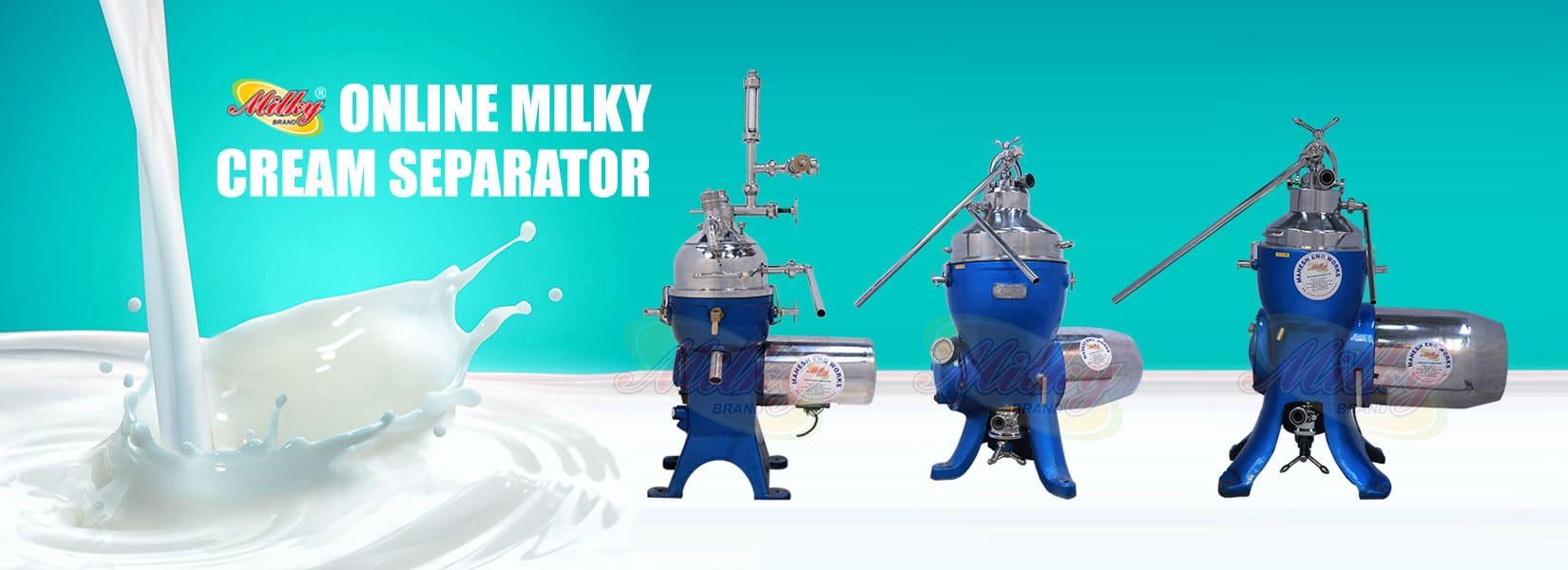 Cream Separator Manufacturer In India